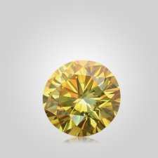 Yellow Cremation Diamond V