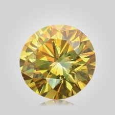 Yellow Cremation Diamonds