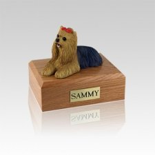 Yorkshire Terrier Small Dog Urn