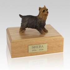 Yorkshire Terrier Walking Large Dog Urn