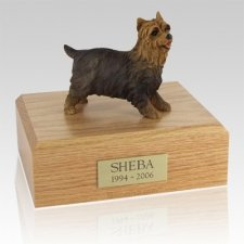 Yorkshire Terrier Walking X Large Dog Urn