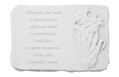 Your Smile Memorial Stone