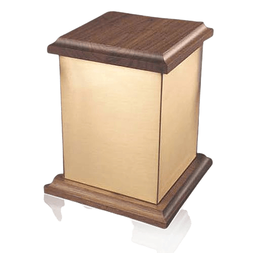 Yukon Plain Bronze Cremation Urn