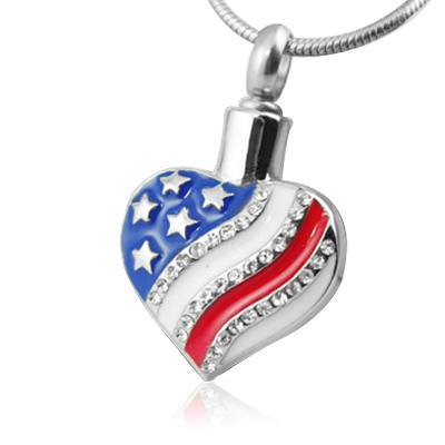 American Heart Cremation Jewelry