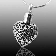 My Heart Cremation Jewelry