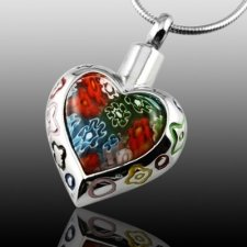 Rainbow Cremation Jewelry