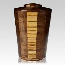 Zebra Wood Urn