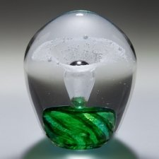 Zelena Geyser Glass Cremation Keepsakes