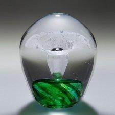 Zelena Geyser Small Glass Cremation Keepsake