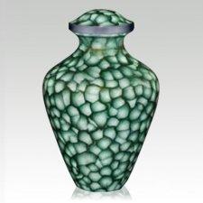 Zelena Metal Cremation Urn