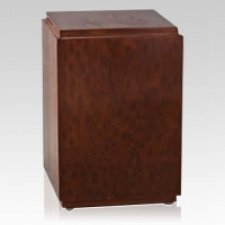Zenith Wood Cremation Urn