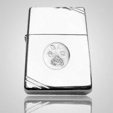 Pet Zippo Print Sterling Silver Keepsakes