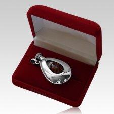 Trinity Flask Silver Keepsake Urn