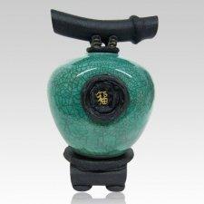 Jade Wish Keeper Cremation Urn