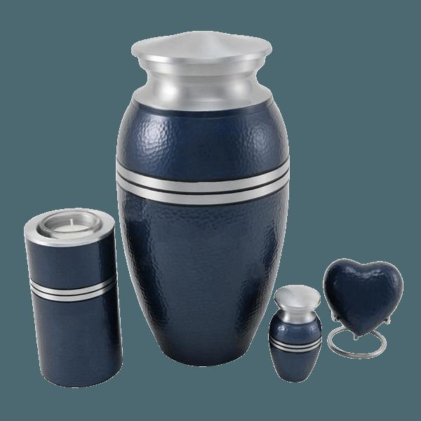 Acropolis Blue Cremation Urns