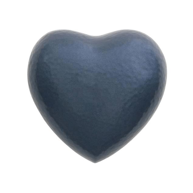 Acropolis Blue Heart Keepsake Urn