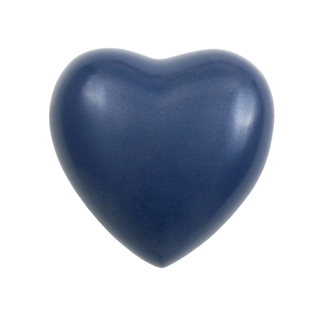 Acropolis Bright Blue Heart Keepsake Urn