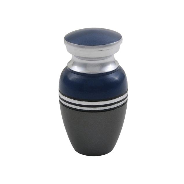 Acropolis Bright Blue Keepsake Cremation Urn