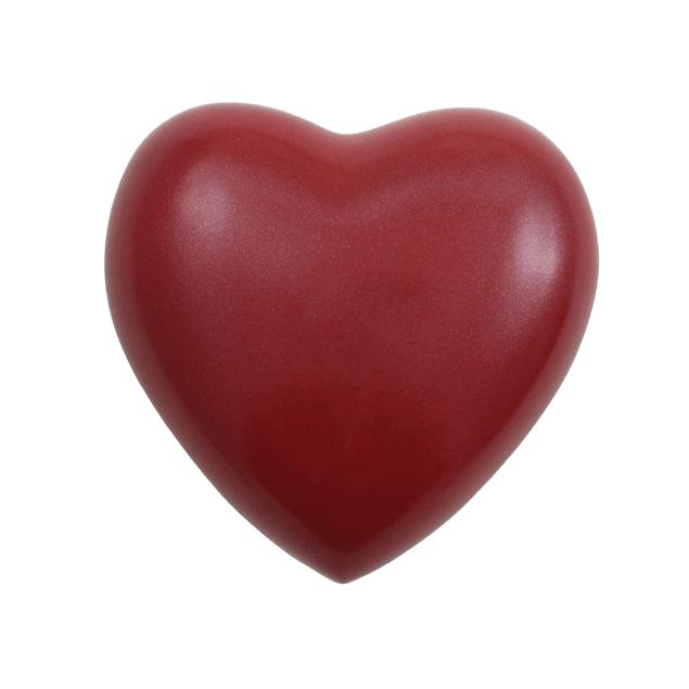 Acropolis Bright Red Heart Keepsake Urn