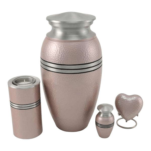 Acropolis Pink Cremation Urns