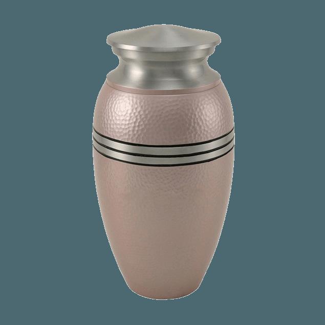 Acropolis Pink Cremation Urn