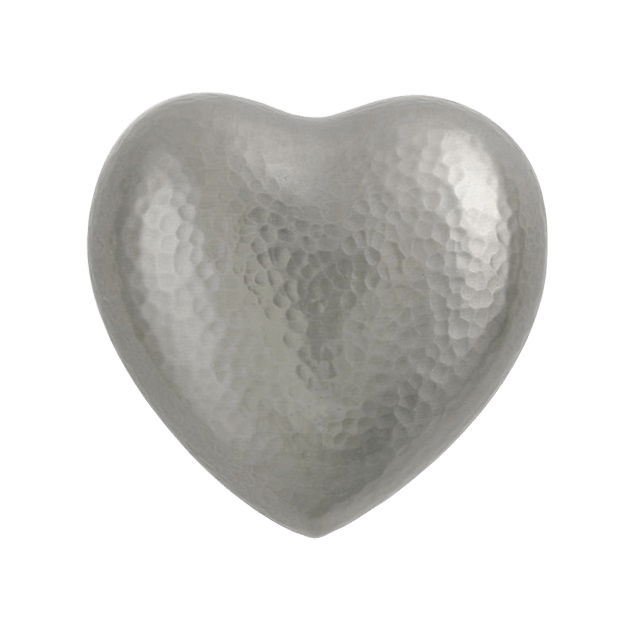 Acropolis Silver Heart Keepsake Urn