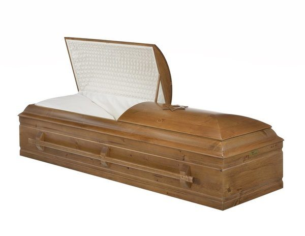 Akiva Wood Casket