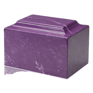 Amethyst Marble Cremation Urns