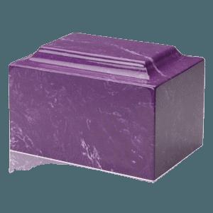 Amethyst Marble Individual Urn