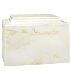 Amity Neutral Marble Cremation Urn