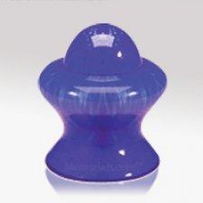 Blue Glass Keepsake Cremation Urn