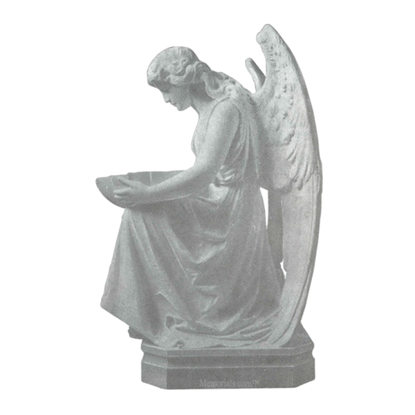 Angel Offering Granite Statue