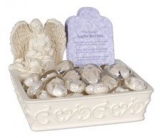 Worry Stone Comfort Stone Keepsake Set