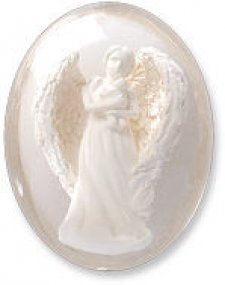 Protected by Angels Worry Keepsake Stones