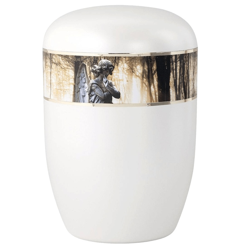 Angel In The Woods Biodegradable Urn
