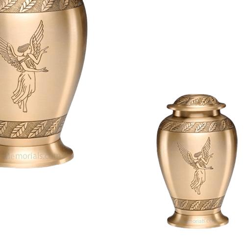 Angel Cremation Keepsake Urn