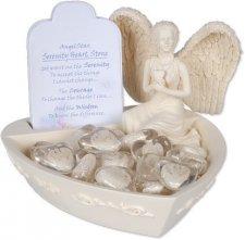 Angel Heart Comfort Stone Keepsake Set