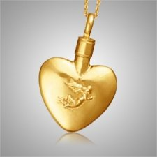 Angel Heart Keepsake Pendant II