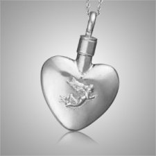 Angel Heart Keepsake Pendant
