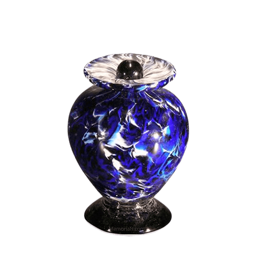 Acqua Keepsake Glass Cremation Urn