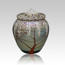 Cherry Blossoms Cremation Urn