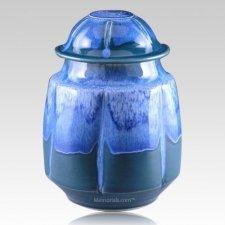 Casa Blanca Stone Art Cremation Urn