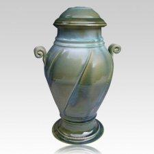 Las Cruces Art Cremation Urn