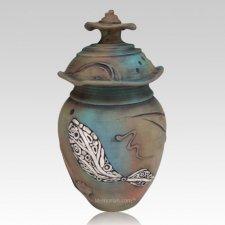 Taos Art Cremation Urn