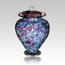 Unique Granada Glass Urn