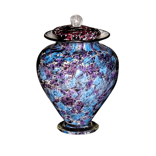 Unique Granada Glass Urn