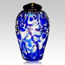 Caribic Water Glass Cremation Urn