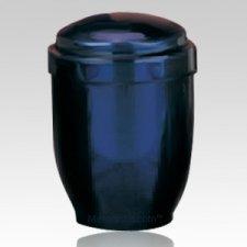 Artisan Blue Pet Cremation Urn