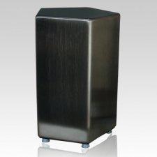 Aurea Satin Steel Cremation Urn