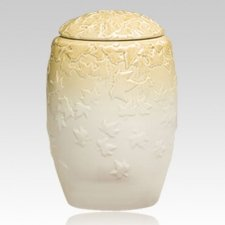 Autumn Twilight Porcelain Cremation Urn